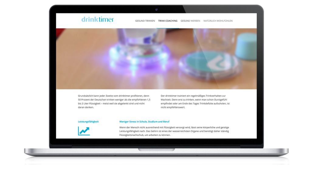 Webdesign Drinktimer