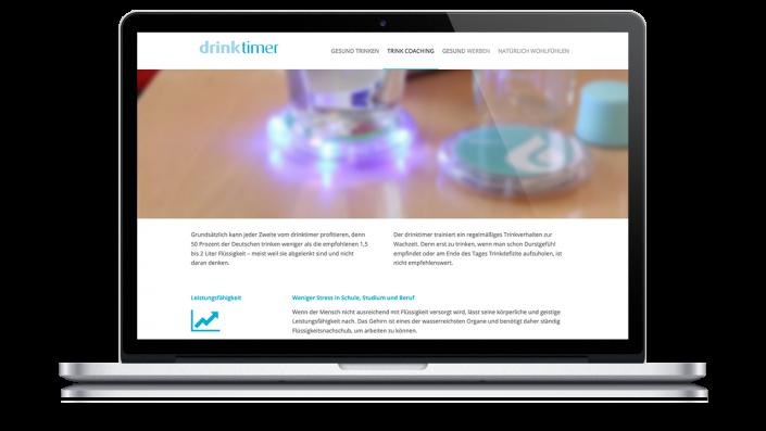 Webdesign Drinktimer