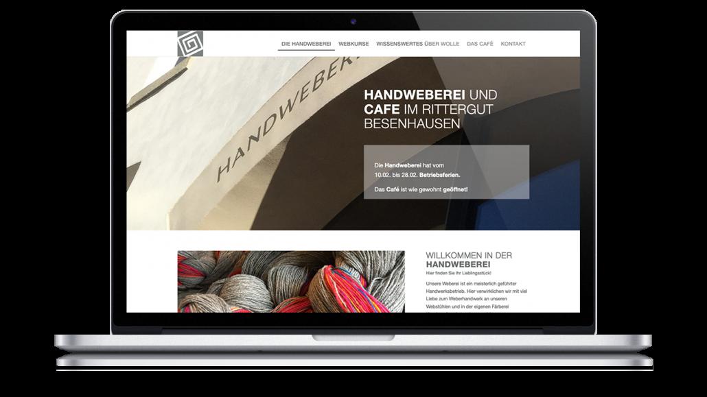 Gestaltung Webseite