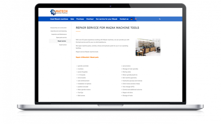 Matech machine trading