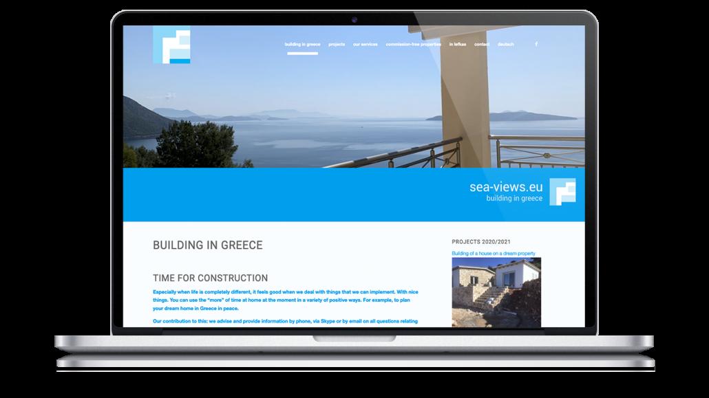 Building in Greece